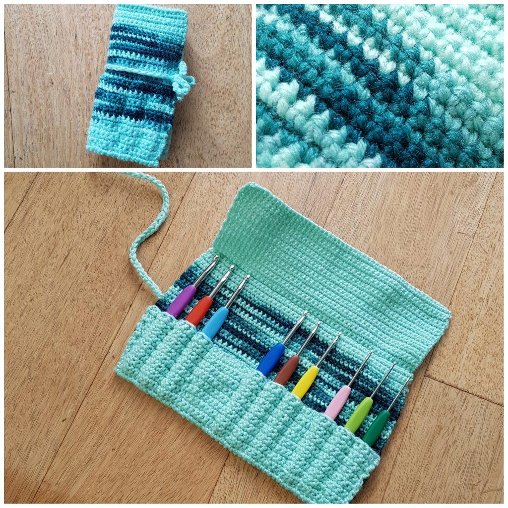 Crochet Hook Holder Myntkat Creations